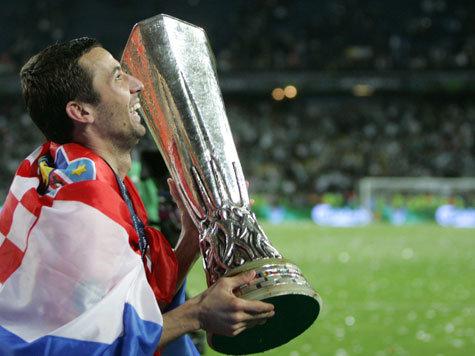 Darijo Srna - UEFA CUP Sieger 2009