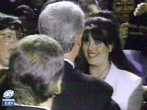 Lewinski and  Clinton