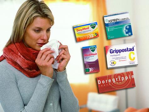 Test Erkältungsmittel