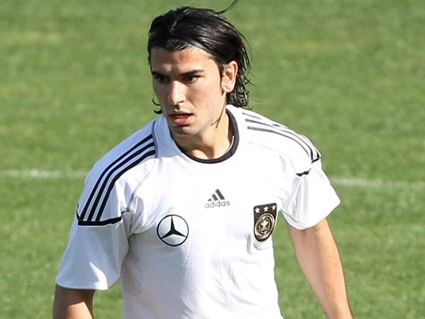 Serdar Tasci in action for Germany