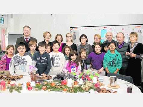 Theresen Grundschule Germering ein geschenk für alle helfer germering
