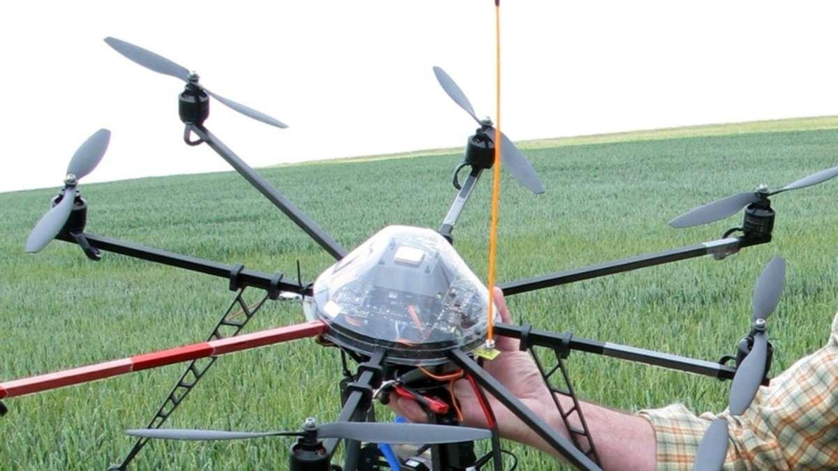 Hubschrauber über Worms