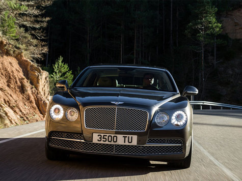 Bentley Flying Spur stärkster Bentley aller Zeiten