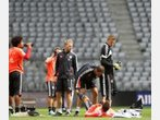 Fotos vom Bayern-Training in der Allianz Arena