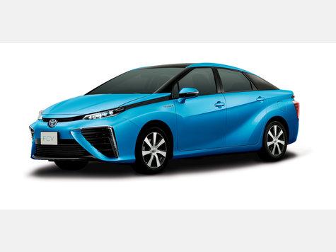 Toyota fcv mit brennstoffzelle umweltfreundlicher antrieb mit