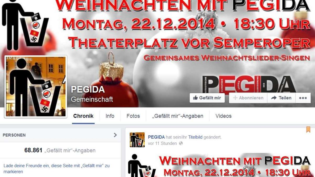 Pegida Facebook