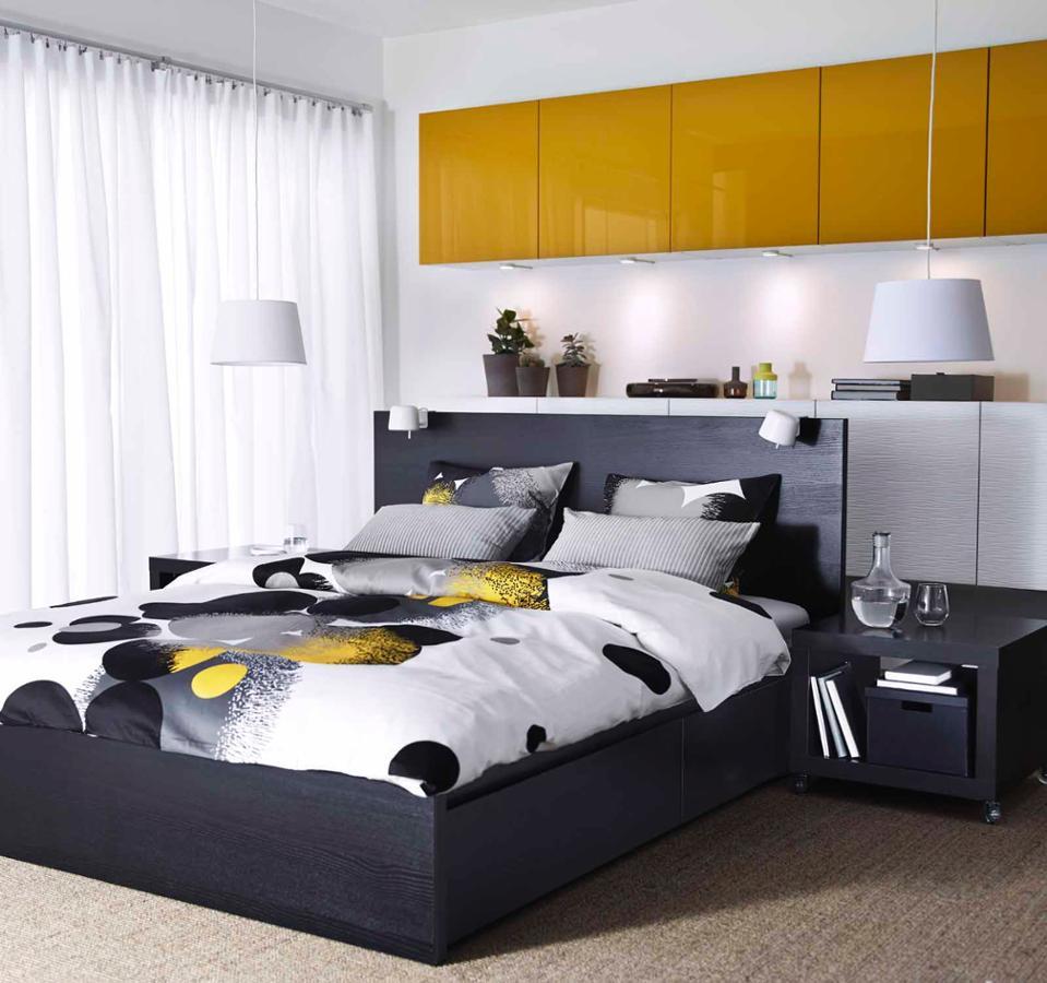 traumhafte schlafzimmer von ikea wohnen. Black Bedroom Furniture Sets. Home Design Ideas
